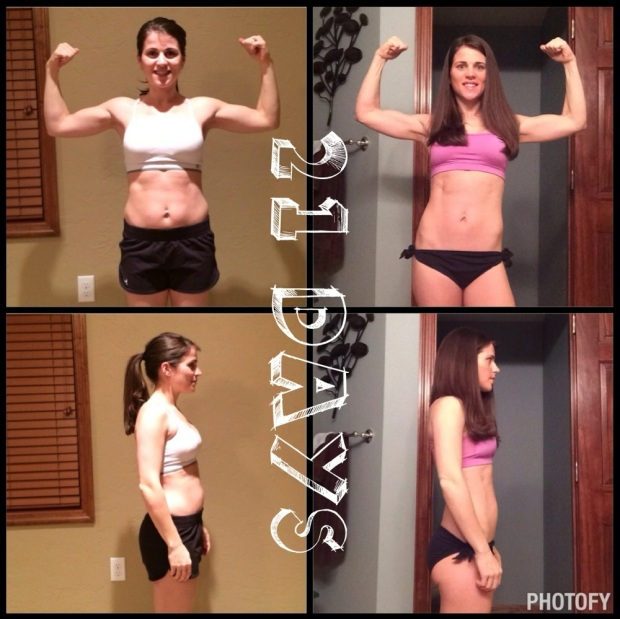 my 21 day fix results