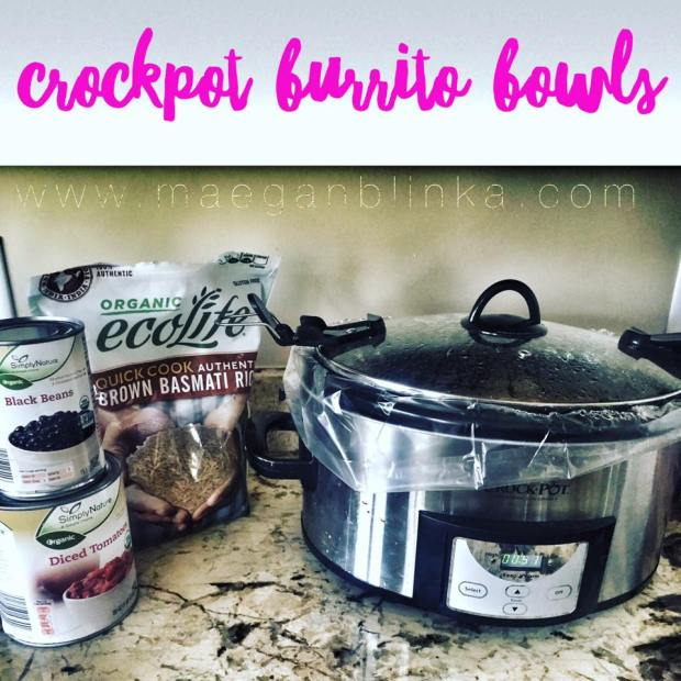 Crockpot burrito bowls