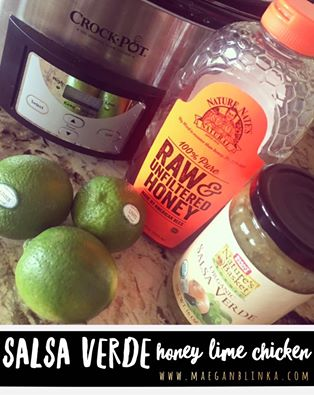 Maegan Blinka, Megan Blinka, Crockpot Meal, healthy crockpot dinner, 21 day fix approved chicken crockpot meal, Honey Chicken Meal, salsa verde chicken recipe, Lime Chicken recipe, Salsa chicken, Healthy Tacos,