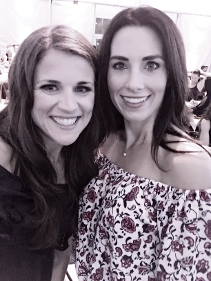 Selfie action with Autumn Calabrese