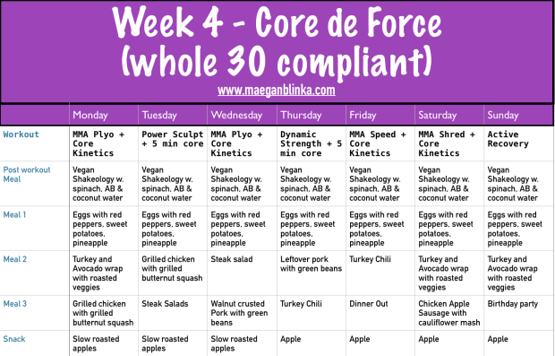Core de Force Week 4 whole 3 meal plan.png