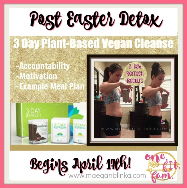Post Easter Detox April 2017