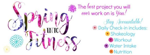 spring into fitness banner
