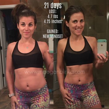 21-day fix results – Maegan Blinka