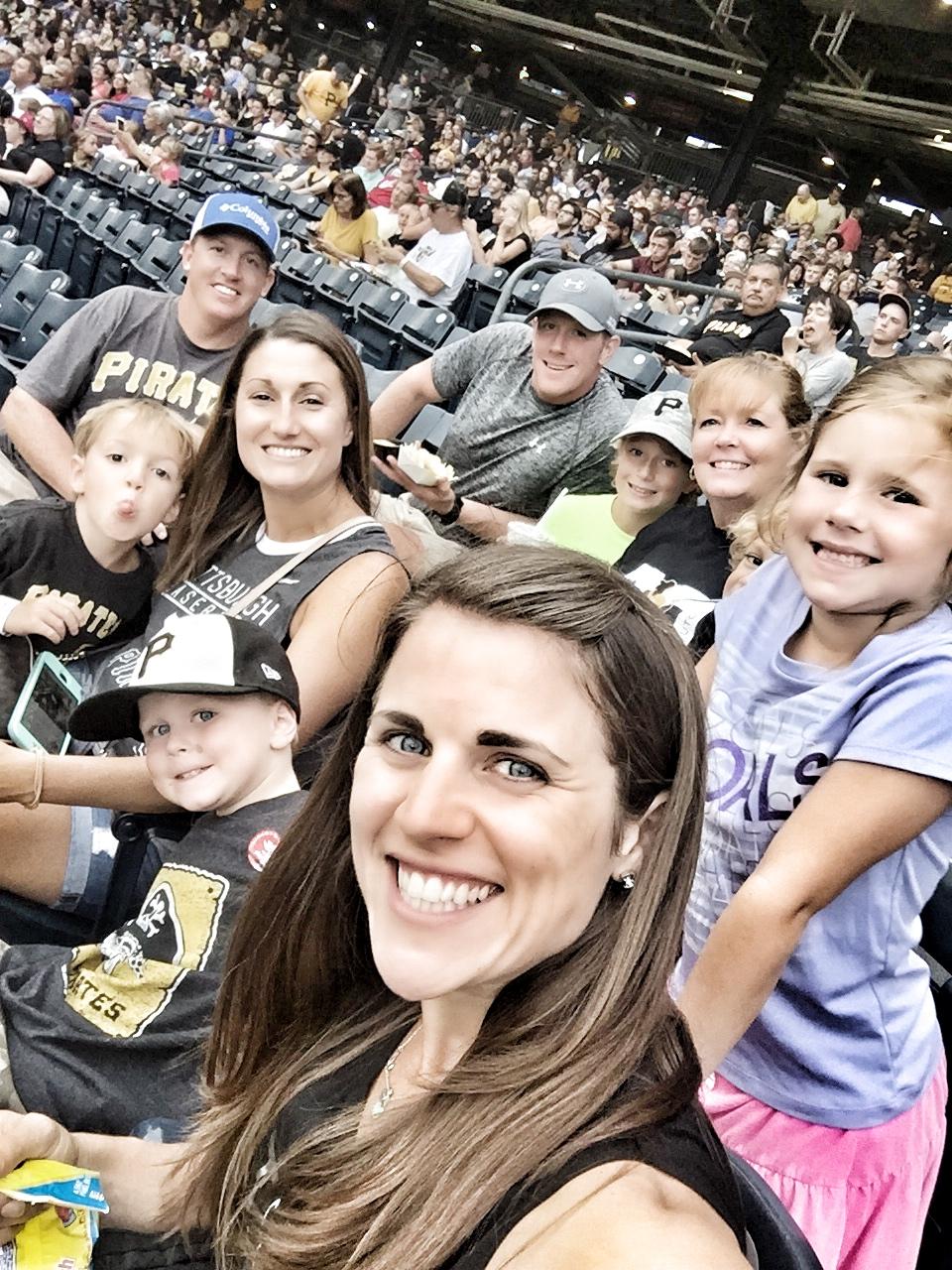 blinka family baseball game