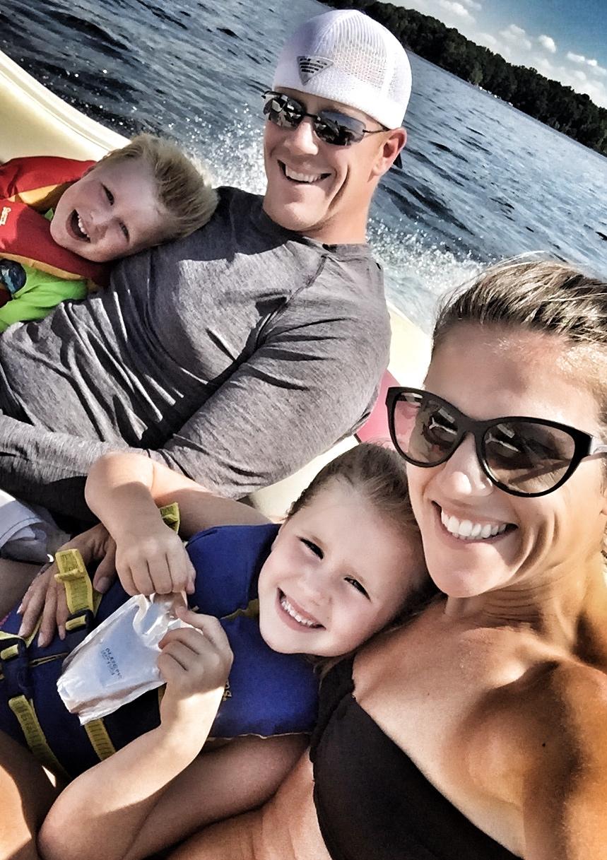 blinka family lake picture