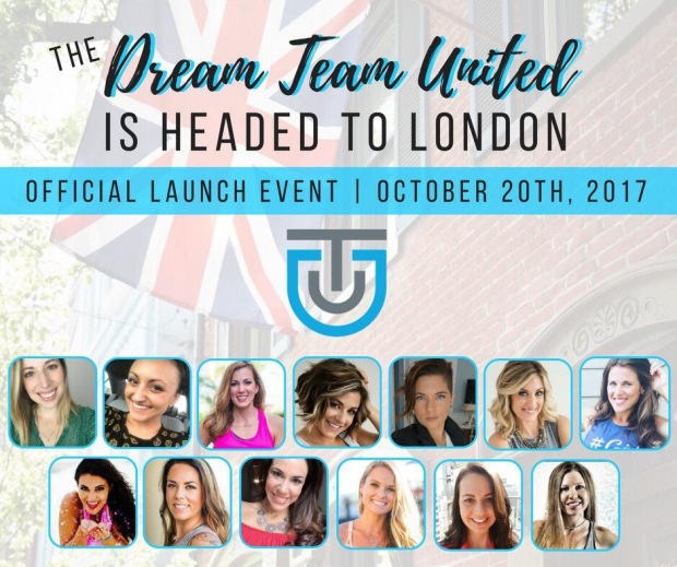 Dream Team is heading to London UK