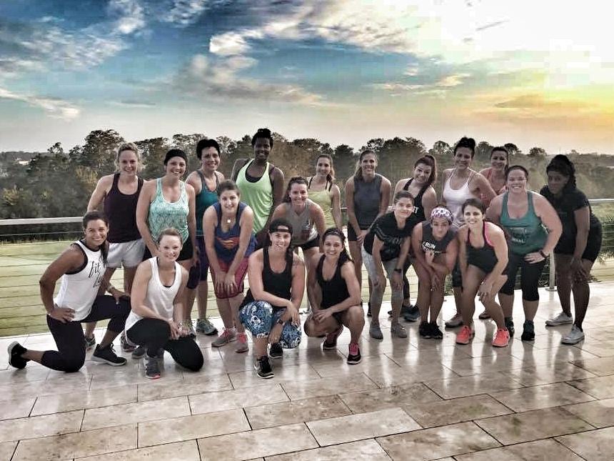 Retreat 2017 post workout shot