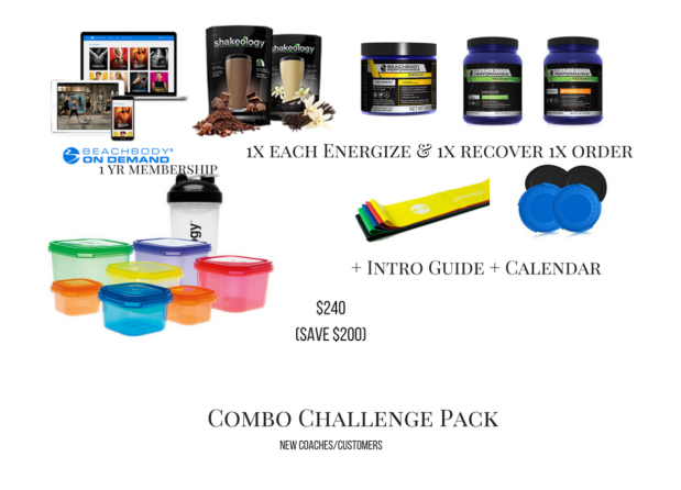 80 day combo challenge pack with BOD