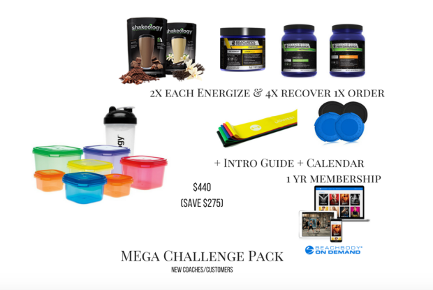80 day mega challenge pack with BOD