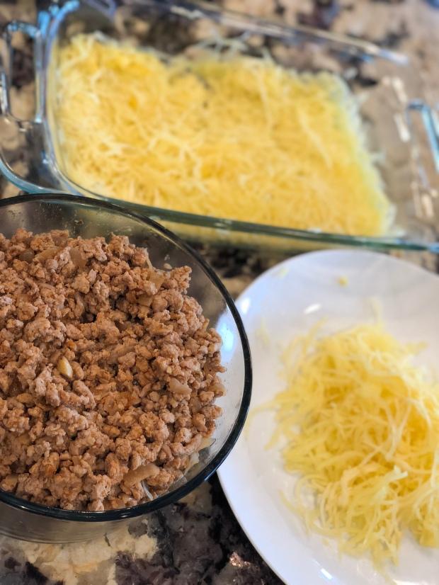 spaghetti squash taco bake picture 2