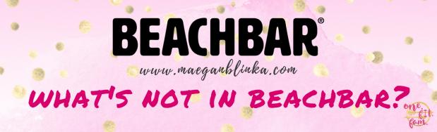 What's not in Beachbar
