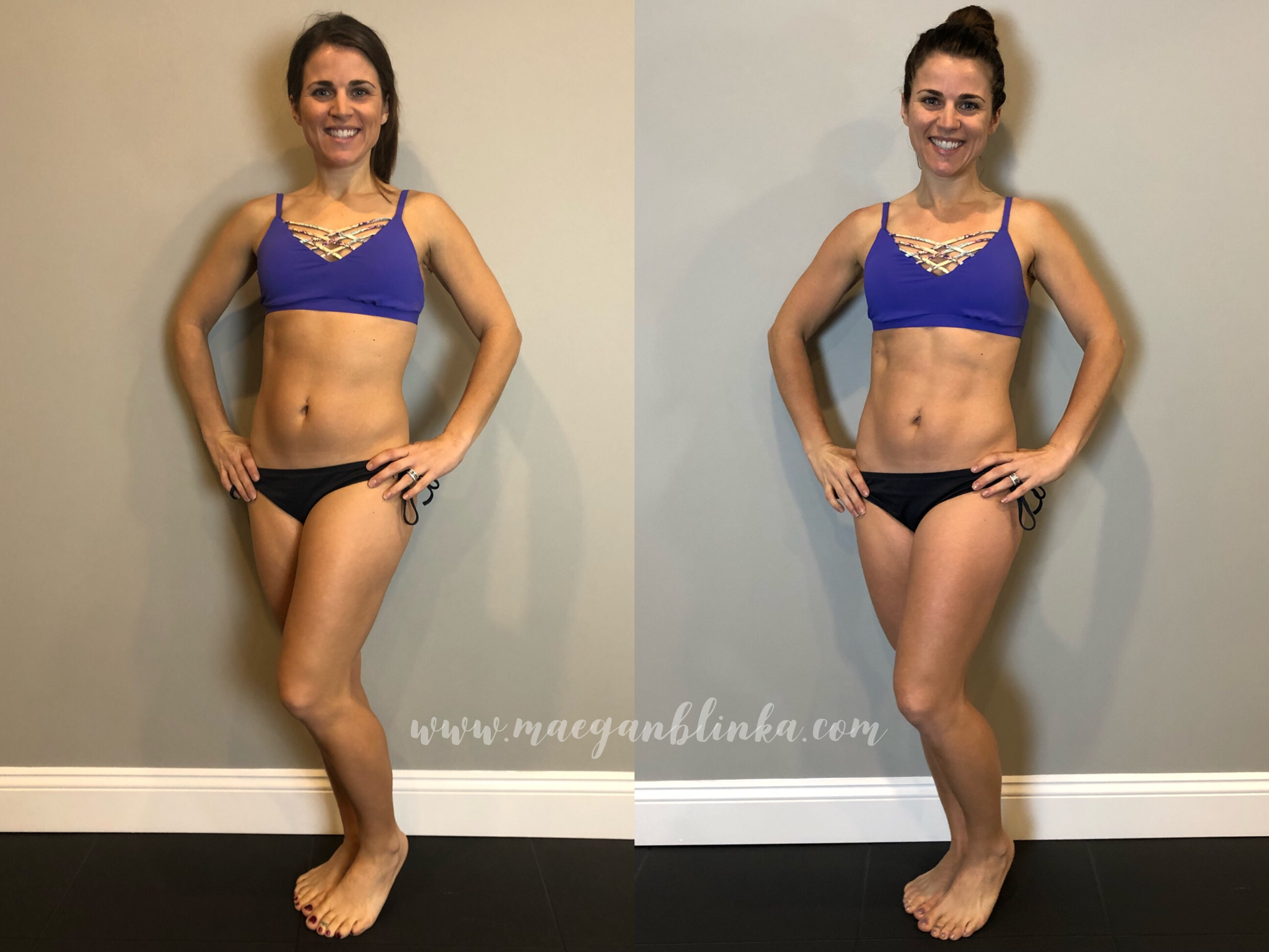 80 day obsession results front flexed