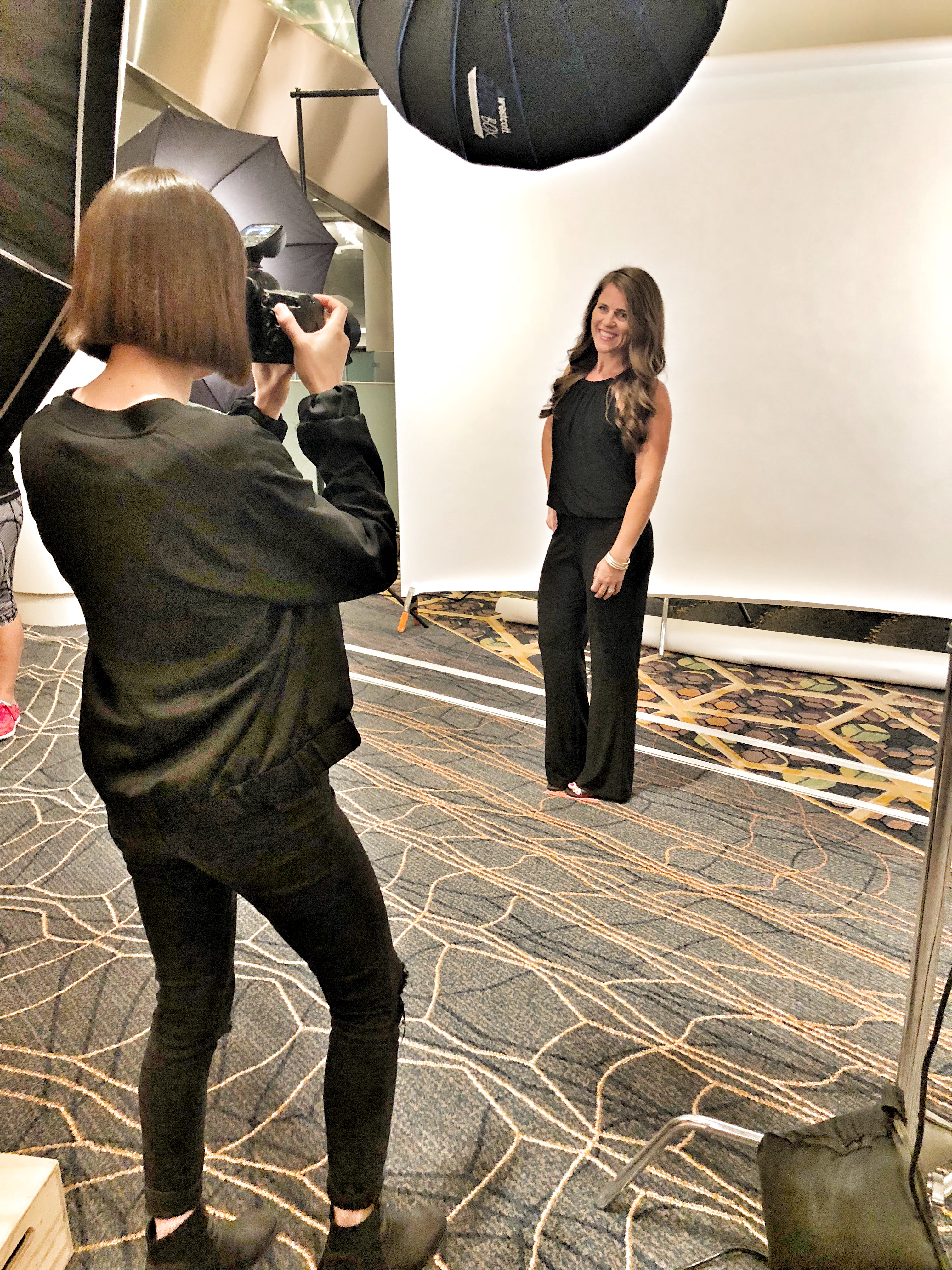 2018 Vegas Leadership elite night photo shoot