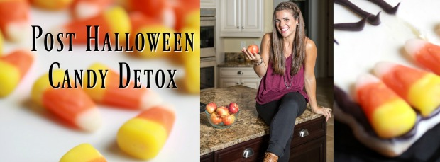 Post halloween Candy detox cover