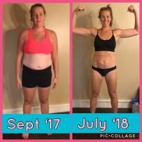 Audra Ervin Transformation results