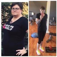 Cheryl Ravenscroft transformation results