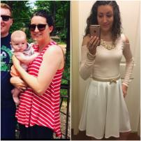 Shannon Chapman Sweating for the wedding results transformation