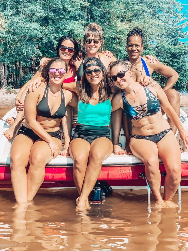 What is coaching, Team Beachbody Coach, Top Beachbody Coach, Beachbody Trips, How to get started as a beachbody coach, Maegan Blinka, Megan Blinka, Lake Norman North Carolina, Lake Norman Team Retreat, Favorite quote tshirts, You are Enough, Put on some gangsta rap and handle it