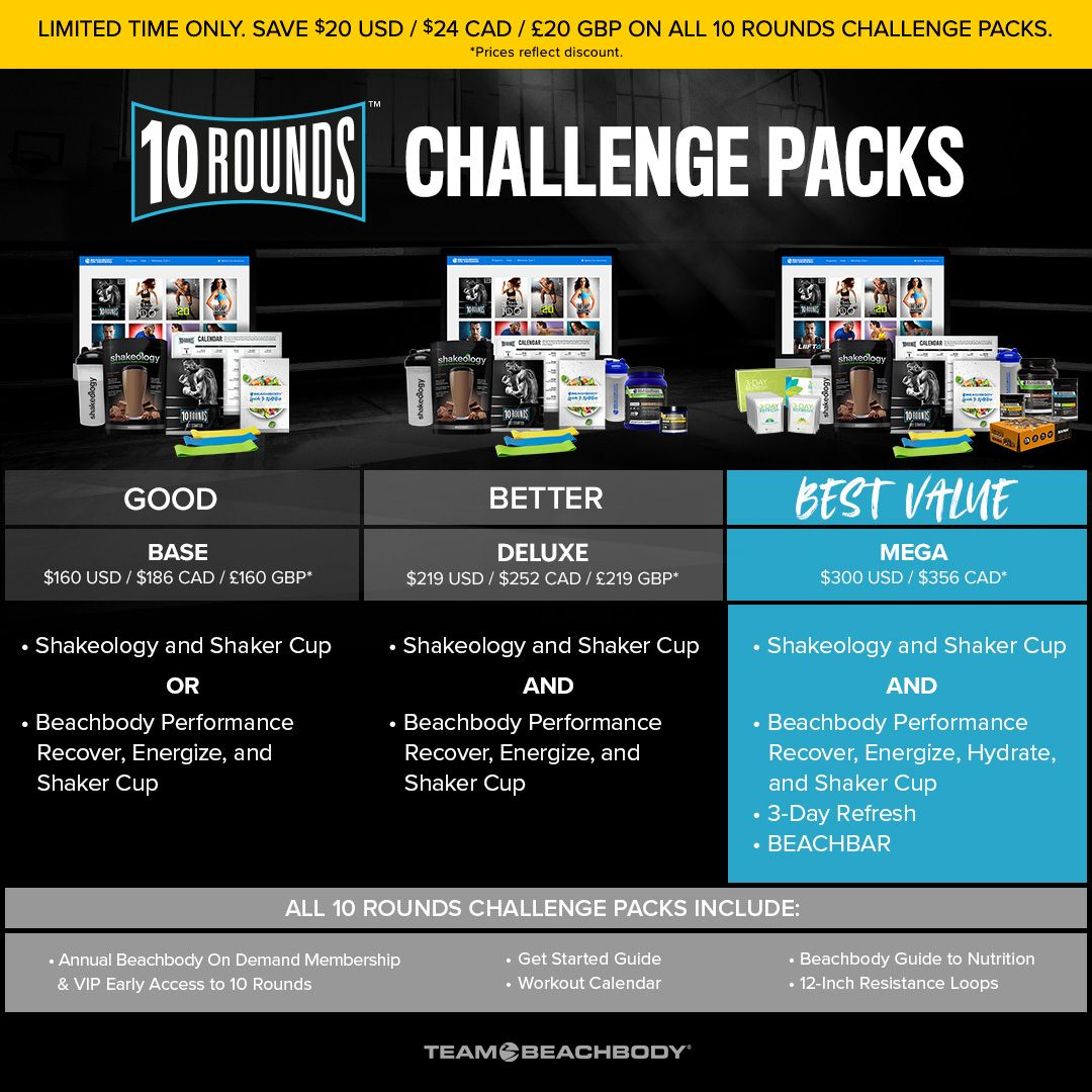 10 rounds, 10 round launch party, Deidra Mangus, Joel Freeman workout programs, home boxing program, how to do boxing at home, what equipment do you need for boxing, boxing program for beginners, Beachbody home fitness program, new home fitness options,
